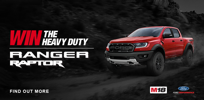 Win a Heavy Duty Ford Ranger with Milwaukee Tools